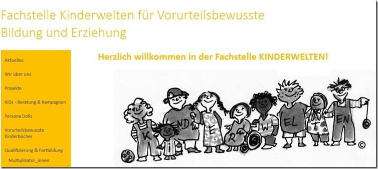 Kinderwelten Homepage