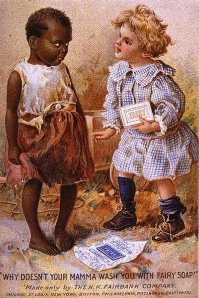 Hautfarbe Stereotyp schwarz und weiss