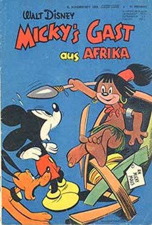 Hautfarben im Comic 1953