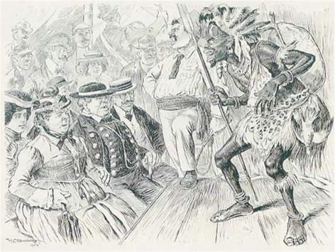 Völkerschau im 19. Jahrhundert