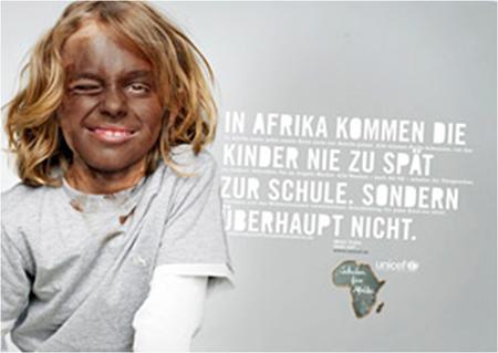 Blackfacing in der Werbung