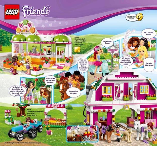 Spielzeugwerbung für Mädchen