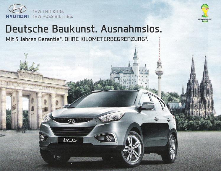 Deutsche Baukunst Werbung 2013