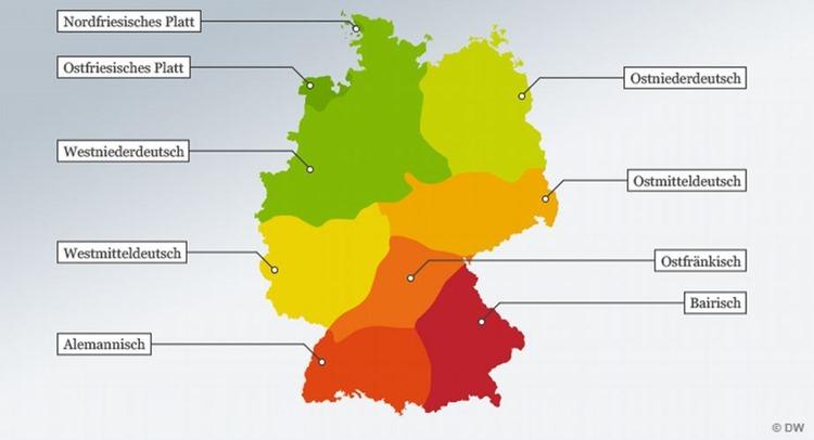 Hintergrundinformationen zu deutschen Dialekten
