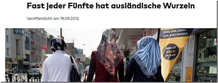 ... zitiert die WELT das Statistische Bundesamt in Wiesbaden ...